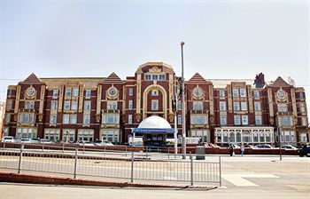 exterior view of the cliffs hotel blackpool