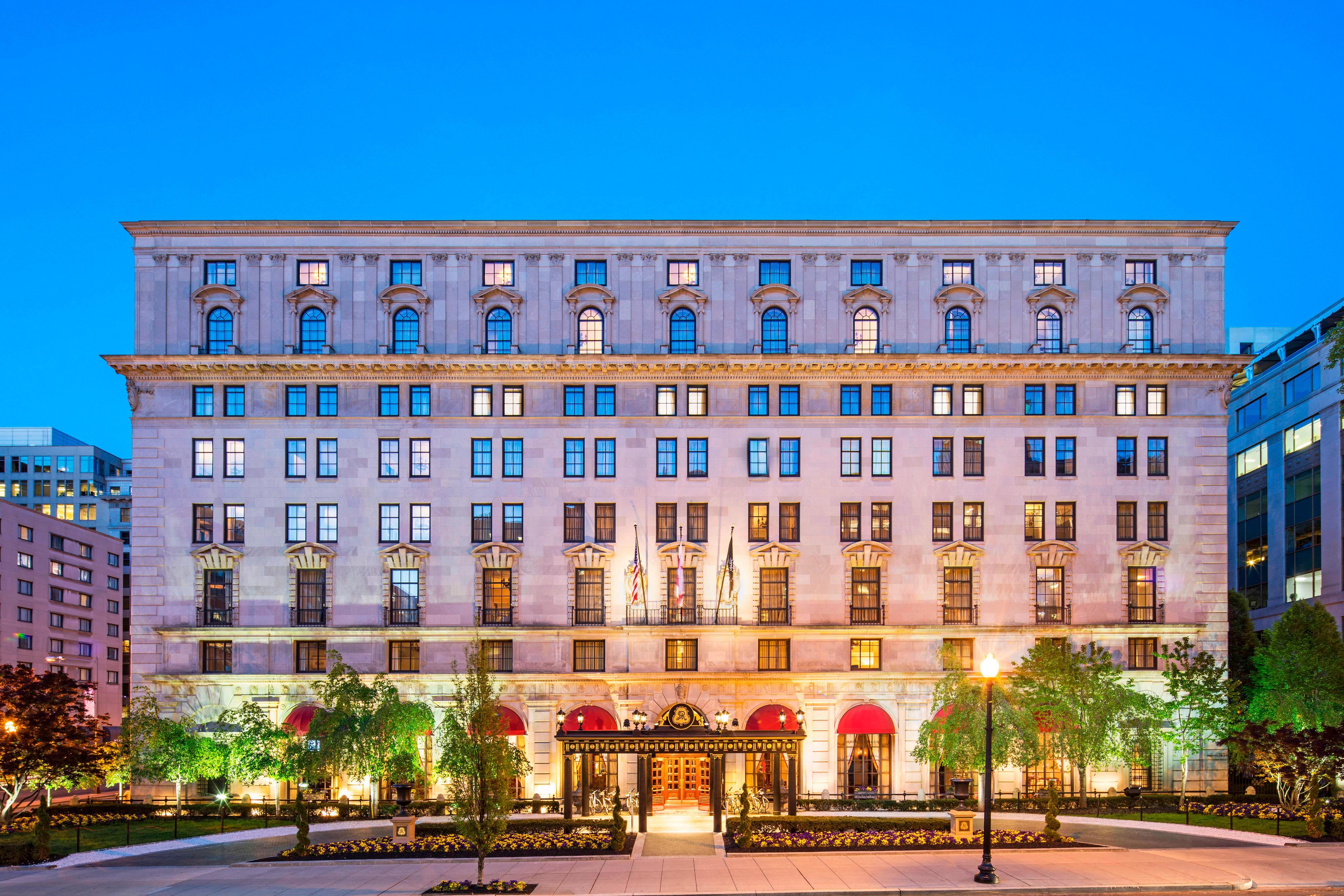 St. Regis Hotel Washington Dc