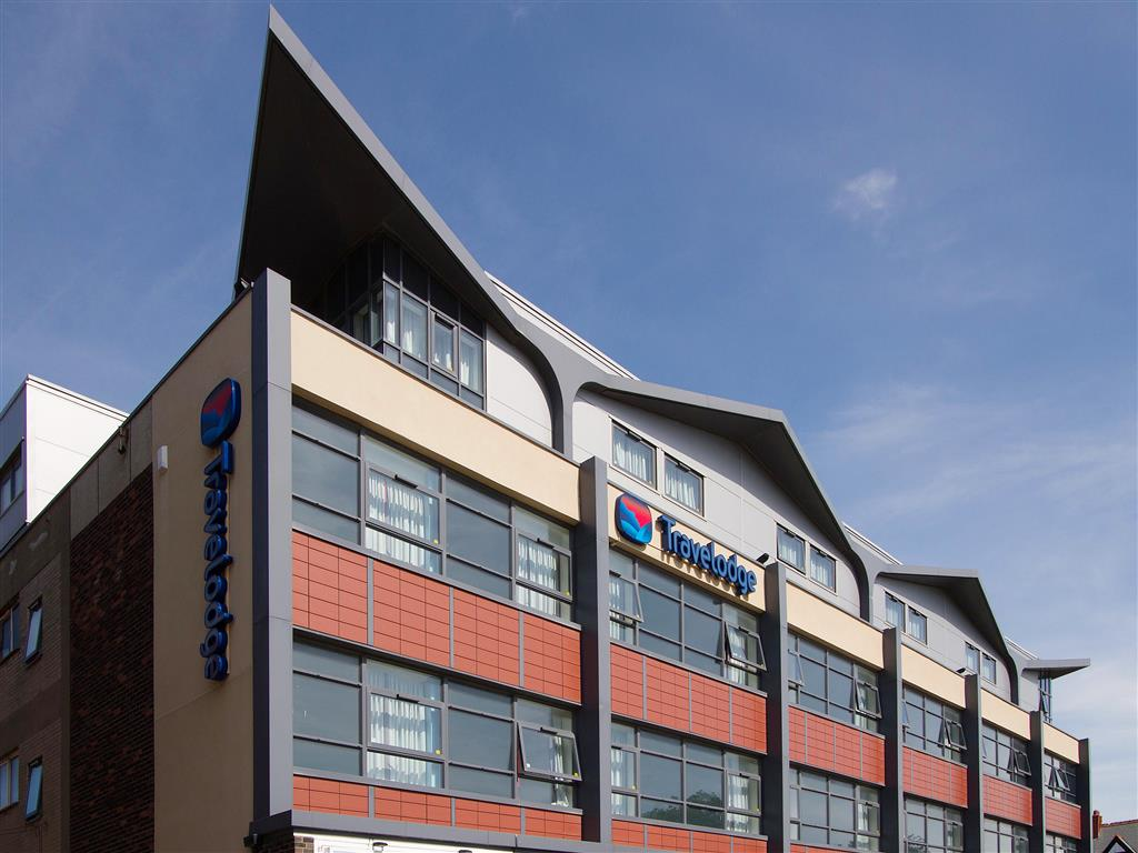 exterior view of travelodge lytham st annes
